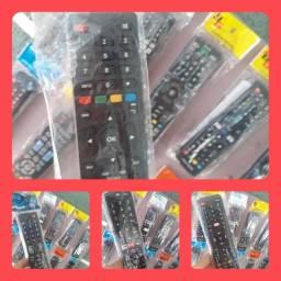 **Com pilhas ** Controles para TV, conversores - vários modelos