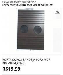 Título do anúncio: PORTA COPOS BANDEJA SOFÁ MDF PREMIUM