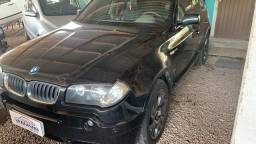 Título do anúncio: BMW X3 Blindada 2004/05 3.0 V6 4x4 Autom.Top Teto Xênon novinha Ac.Troca.