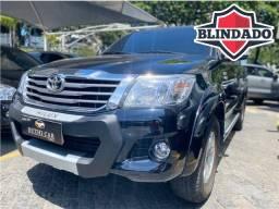 Toyota Hilux SRV 2.7 Blindado NIIIA com tração 4x4 impecável 52.000km
