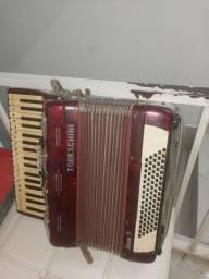 Título do anúncio: Vendo acordeon 80 baixos