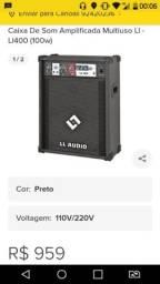 Caixa amplificada LL400