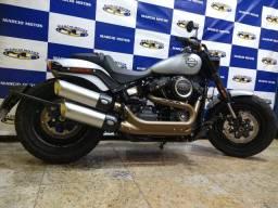 Harley Davidson Sodtail Fat Bob 107 19/20 Prata