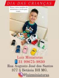 Título do anúncio: Miniaturas de Carros Dia das Crianças