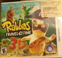 Título do anúncio: Jogo 3DS Rabbids Travel In Time