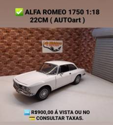 Título do anúncio: Miniatura Alfa Romeo 1:18 AUTOart