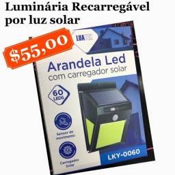 Título do anúncio: Luminária Recarregável por luz solar - Economize energia