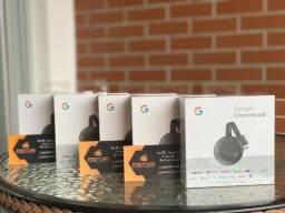 Chromecast 3 Google Full HD com Wi-Fi / HDMI - Preto