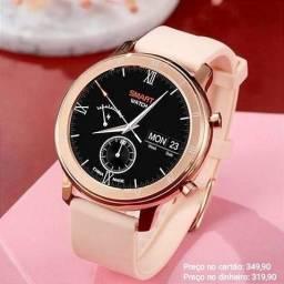 Relógio Feminino Digital Inteligente Smartwatch DT89 Lançamento Original