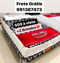 Cama Casal Pelmex Nova Zerada Promoção Frete Grátis