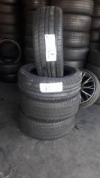 Jogo de pneus novos marca Onix e orance