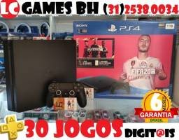 PlayStation 4 Slim 1TB ou 500GB +30JOGOs +06Meses Garantia