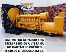 Título do anúncio: Miniatura Motor Cat Gerador 1:25