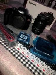 Título do anúncio: câmera profissional Canon EOS Rebel T100 Lente(EF-S 18-55)