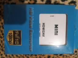 Título do anúncio: HD vídeo conversor(mini) HDMI