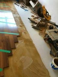Técnico em instalação de piso vinilico e laminado