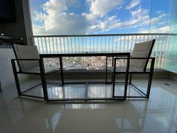Mesa para varanda 2 lugares