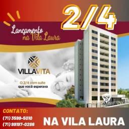 Super Oportunidade - 2/4 53m² com varanda, Vila Vita Residencial
