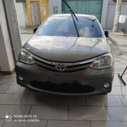 Toyota etios 2017 automatico 1.5 xls sedan