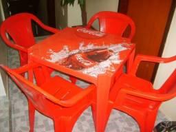 Mesas da coca