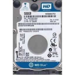 HD Notebook Sata III - 500gb