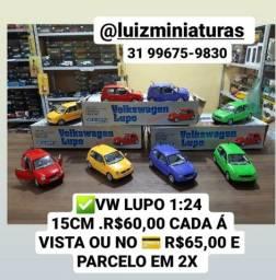 Título do anúncio: Miniatura VW Lupo 1:24