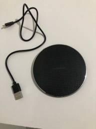 Carregador sem fio Wireless (NOVO LACRADO)