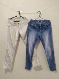 Lote de Calças e Shorts Femininos 12 peças por 30 reais