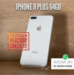 Entrega RÁPIDA e GRÁTIS BH! iPhone 8 PLUS 64GB - NENHUMA Marca de uso - IGUAL ZERO!
