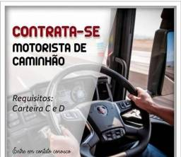 Título do anúncio: Contrate-se motorista em Betim - categoria CNH C, D