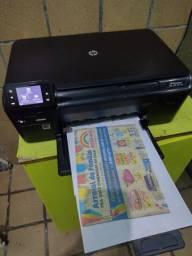 Impressora multifuncional HP D110 Wi-Fi cartuchos cheios funcionando perfeitamente