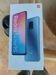 Xiame note 9 128 GB e 6 ram versão global cor azul