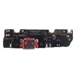 Conector quebrado - Placa Conector Carga Motorola Moto G6 Play XT1922-5