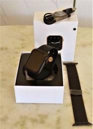 Smartwatch W26 preto + pulseira extra milanese * promoção*
