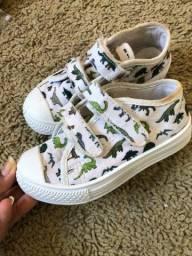 Título do anúncio: Lote sapatos menino