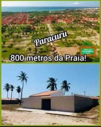 Loteamento à 800 metros da praia de Paracuru!
