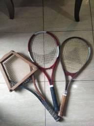 3 Raquetes de tênis