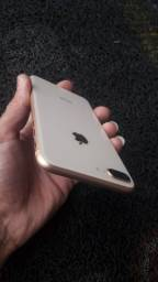Iphone 8 Plus Rose sem marcas de uso,  bateria 96% original ainda