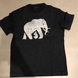 Título do anúncio: Camisa Cinza Elefante Banana Republic - Tamanho P