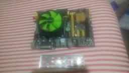 Kit Top Placa mae 1150 + i5 4690 + 8GB + HD 1500 GB Ac.Cartão