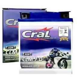 Bateria Moto Cral Xt 225 Xt225 Serow 7ah Clm7d 0145