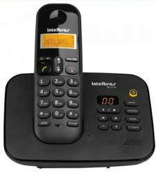 Telefone Intelbras Sem Fio Digital Secretaria Eletrônica