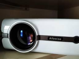 Projetor LED Alfawise A11 c/ Android 6.0.1 e Wi-Fi