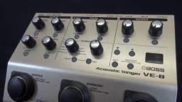 Pedal de voz e violão VE 8- BOSS (aceito cartão)