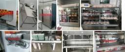 Balcão refrigerado / Câmara Fria / Geladeira Bebidas / Expositor furtas verduras