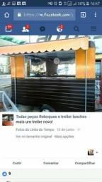 Treiler de lanches em porto alegre carrinho de cachorro quente food truck