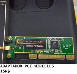 Adaptador PCI wirelles