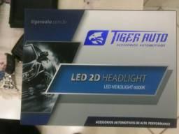 Kit lampadas Super Led (6000k) Super branca (Modelo H7 e H1)