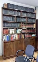 Estante em Madeira Maciça para Livros Pesados com Estrutura Extremamente Forte