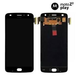 Display Tela LCD Touch Moto Z2 Play com Garantia